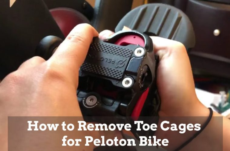 How To Remove Peloton Toe Cages