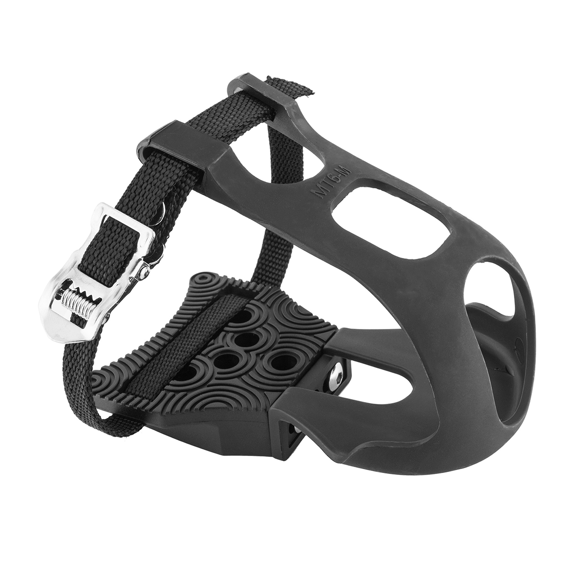 Exustar Clipless Adapter Pedal with Toe Clips